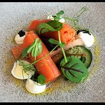 Trout small plate