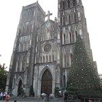 La Cathedrale avant Noel