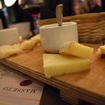 - and what about cheese?  - Delizioso!