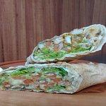 shawarma  (kebab) falafel ou natural
