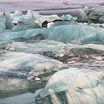 Gletscherlagune Jökulsárlón Foto