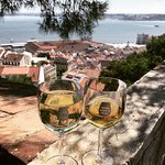 Wine With a View Foto