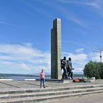 Monument to the Defenders of Polar Region Foto