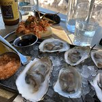 A tasting of Maine Oysters and the Lobster Roll