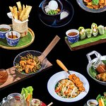 Authentic Thai tapas at the Drink Gallery Koh Samui.