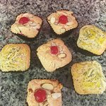 Cherry Almond and Lemon Poppy Seeds Pound Cakes.