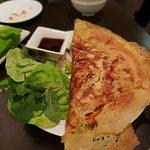 Vegetarian crispy crepe