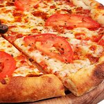 Margherita - Mozzarella, Basil, Tomato Sauce (Made From Fresh Tomatoes), Tomatoes (420 gr.) ≈ $3