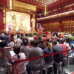 Buddha Tooth Relic Temple and Museum (Zahntempel) Foto