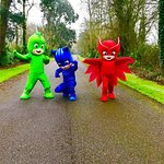 The PJ Masks arrive at Trabolgan Holiday Village!