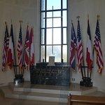 노르망디 미국 묘지 및 기념관의 사진