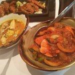 Chicken Chilli, House Chicken Curry