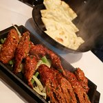 Seekh Kebab and Plain Naan