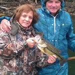 We catch 'em in all kinds of weather...any time of the year!