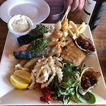 Bruny Island Safaris and Hotel Bruny Seafood Platter for lunch... you can't go wrong!
