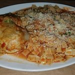 Chicken in Wine Sauce with traditional dumplings