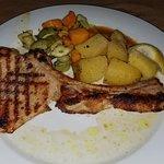 Pork Steak and Veggies