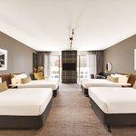 vibe hotel sydney executive family room bedroom quad