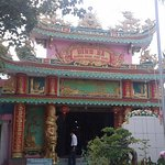 Entrance to Dinh Ba Temple