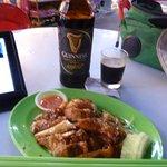 beer & quarter chicken