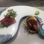Tuna and beef course