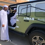 Professional drivers to take you on a great trip to see the city or go on a Desert safari