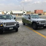 Two of Four brand new 4x4 Jeeps
