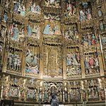 Retable behind the high altar of the Primate Cathedral of Saint Mary of Toledo. (AlpinerHut)