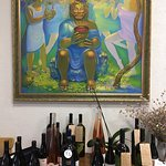 artwork and wines