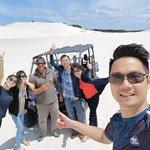 Lancelin Sand Dunes照片