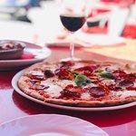 Pizza Y Pasta Foto