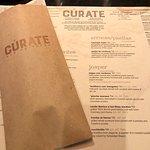 Curate menu