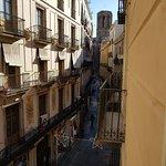 Вид из номера с балкона