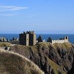 Dunnottar Castle by the sea