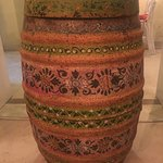Painted barrel