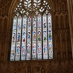 One of the many fabulous stained windows