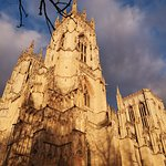 David Bailey? Well not really but not a bad shot of the Minster