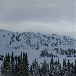 Panorama pic from the top of Blackcomb mountain.