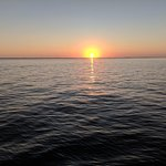 Sunset across Tarpon Bay (aboard the Adventures in Paradise boat)