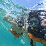 Mergulho com snorkel.