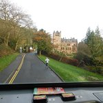 Road approaching Belfast Castle