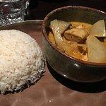 poulet curry et lait de coco