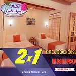 Aprovecha el mes de enero 2x1 en Hotel Cielo Azul Atacames