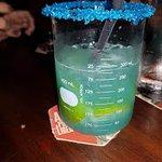 bebida vem com uma injeção blue. Essa é deliciosa!
