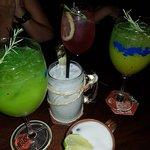Bebidas bem apresentadas