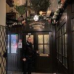 Entrance to the Restaurant Griechenbeisl.