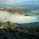 The Canadian Falls through our hotel window