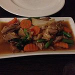 Duck with mixed veggies and a bit spicy