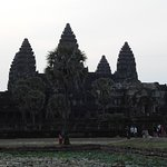 The towers of Angkor Wat depicting the holy Mount Meru