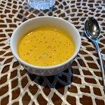 Sweet Mango Soup with Pomelo